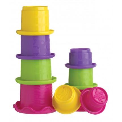 Stacking Fun Cups (Pink)