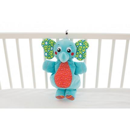 Musical Pullstring Elephant