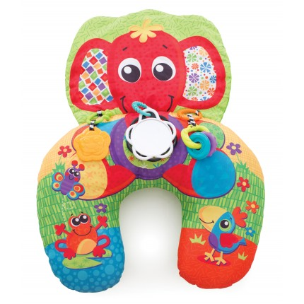 Elephant Hugs Activity Pillow