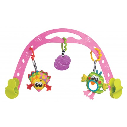 Animal Friends Travel Play Arch (Pink)
